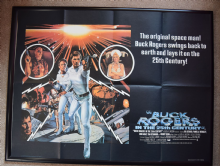 Buck Rogers in the 25th Century (1979) Film Poster - UK Quad